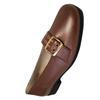 Chaussure ballerine Pediconfort P 44 en cuir marron irisé