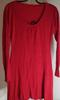 Robe pull rouge pour femme taille - S/m