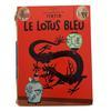 BD les aventures de Tintin Le Lotus bleu Hergé Ed. Casterman 1966