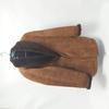 Manteaux shearling original-made in Italy- ;NB :la fermeture de la poche intérieure abimée .Un bouton abimé ! -  shearling - XXXL