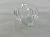 Vide poche verre/cristal en forme de canard