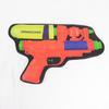 Pochette imprimé en forme de pistolet à eau Undercover