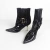 Bottines à talon Christian Dior Femme noir taille 37 1/2