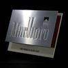 Enseigne publicitaire vintage Marlboro