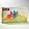 Lot de 6 quilles de couleurs de d'une boule de bowling