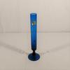 Vase soliflore en verre de Portieux bleu
