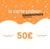 Carte cadeau Label Emmaüs - 50€