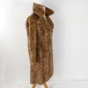 Manteau femme a motif Pattes de vison taille M