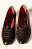 Escarpins noires et rouges