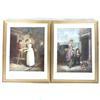 Duo de reproductions encadrés - Cries of London plate 4th & 6th