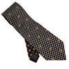Cravate Gianni Versace en soie imprimé logo