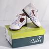 Chaussures pour filles, blanc et fleurs multicolores