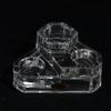 bougeoirs escalier 3 en 1 en cristal.