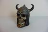 Tirelire en forme de crâne Viking