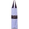Sac à Baguette Rayures Bleu Blanc Bordeaux 61x18cm