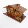 Boîte en bois forme de maison Thonon-Les-Bains