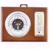 Thermomètre baromètre ancien en bois