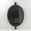 Ancien miroir cadre métal brut vintage