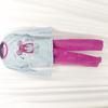 Pyjama fille en velours T4ans - ÊPOP