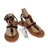 Neuf & étiquette Chaussures sandales Monoprix P 39 cuir imprimé léopard