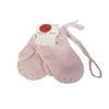 Neufs Gants moufles rose pâle Bout'chou Monoprix 6/18 mois