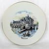 Assiette en porcelaine décorative Chenonceau