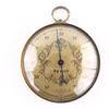Thermomètre baromètre en métal doré - AC Delco
