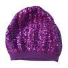 Bonnet H&M violet à sequins