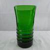 Vase carré de couleur verte