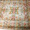 Grande tapisserie ancienne 265 x 211 cm Tapis tenture murale Décoration baroque