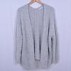 Gilet épais gris avec détails argentés - Femme - M/L