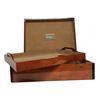 Coffret boîte Les Trois Toques en bois laqué 44,5 x 33 x 12,5 cm