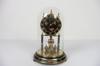 Horloge/Pendule mécanique à torsion Kundo Kieninger & Obergfell décor floral fabriquée en Allemagne
