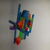 LASER PEGS 4 en 1 hélicoptère, Briques de construction, comme neuf  - Templar