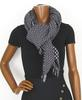 Écharpe en laine à motif