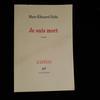 Livre Je suis mort de Marc-Edouard Nabe