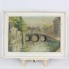 Tableau huile sur toile Douai 1946.
