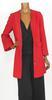 Manteau tendance rouge