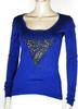 Pull Femme Violet GUESS T XS.