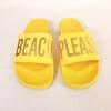 Claquettes jaunes Please Beach - The Whitebrand  taille 41
