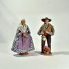 Couple de Santons  - Vieux Métiers - Simone Jouglas