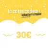 Carte cadeau Label Emmaüs - 30€