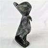 Jolie statuette en pierre d'un faucon égyptien