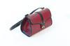 Petit sac à main rouge foncé Vintage