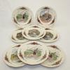 Lot de 8 assiettes à dessert Obernai sarreguemines