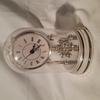 Horloge de table Argenté