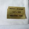 Parure de Draps en Coton Broderie Mécanique 160 cm  X 300 cm (Sans Taies)