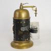 Lampe originale à pétrole en laiton