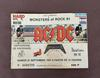 Billet de Concert ACDC - Monsters of Rock 91  (Hippodrome de Vincennes, 1991)