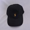 Casquette mixte noir logo jaune - Polo Ralph Lauren